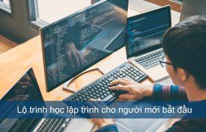 Lộ trình học lập trình cho người mới bắt đầu