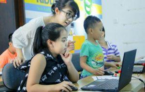 Lớp học Code For Kid với rất nhiều lứa học viên tài năng