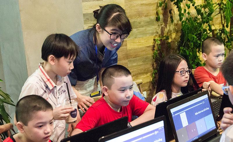 Lớp học lập trình cho trẻ em tại Hà Nội