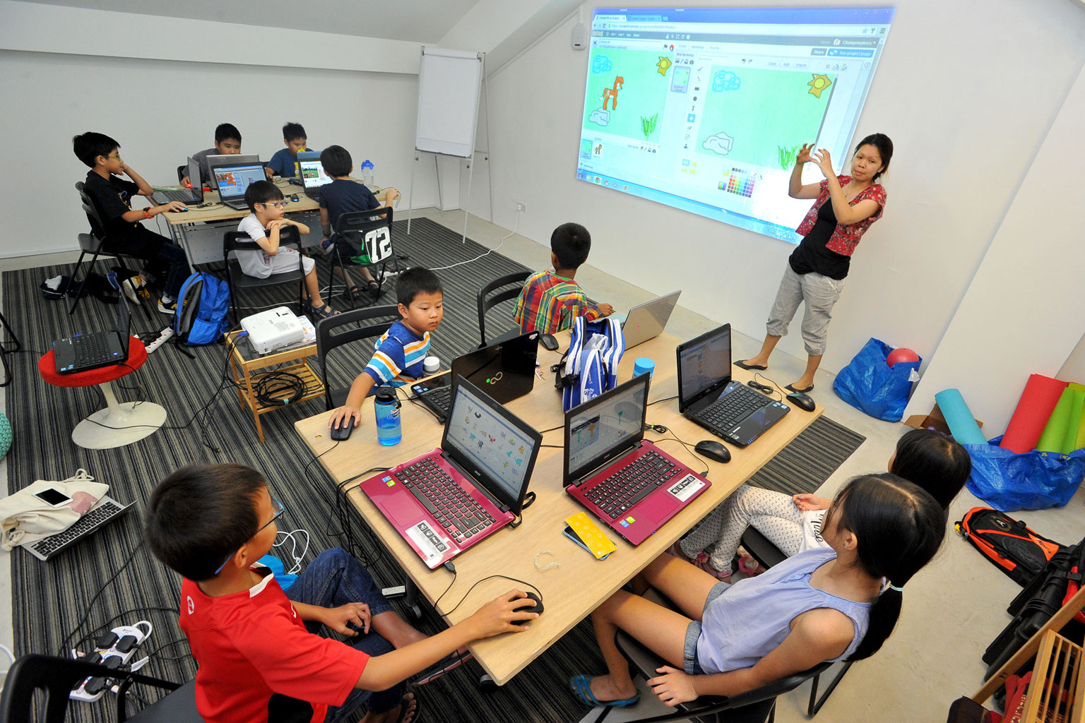 Trung tâm dạy lập trình Code for Kid là sự lựa chọn của nhiều phụ huynh