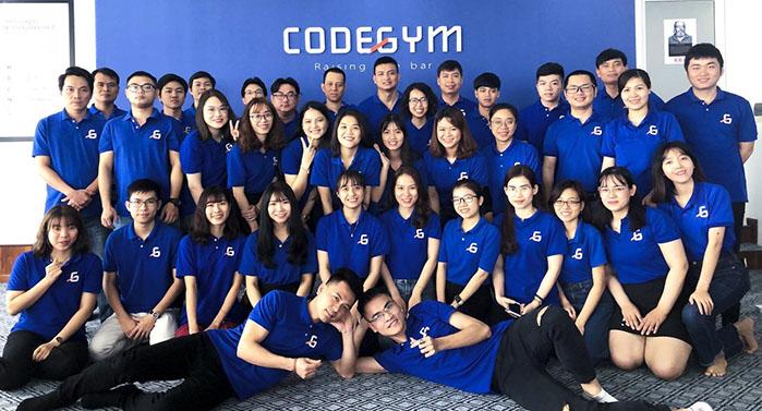 Codegym là một trong những hệ thống đào tạo lập trình viên hàng đầu hiện nay