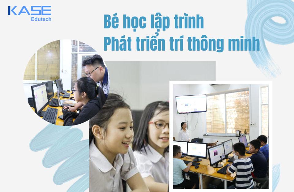 Khóa học lập trình cho trẻ em tại Kase